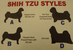 K9 Services Grooming Styles