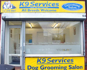 K9 Services Grooming Salon